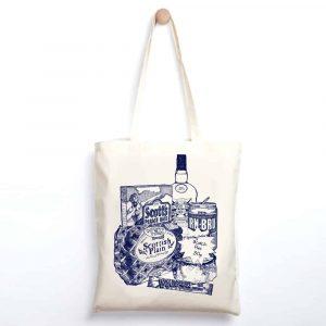 Scottish Breakfast Lightweight tote bag