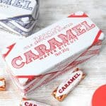 Retro Tunnock's Caramel Wafer Biscuit and Cake Kitchen Storage Tin by Gillian Kyle