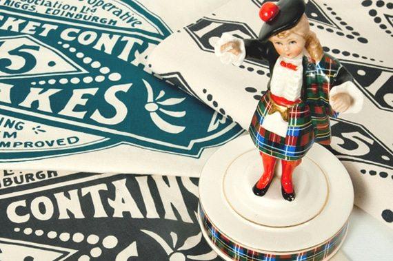 Scottish Tea Towels by Gillian Kyle