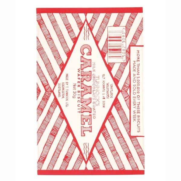 Gillian Kyle, Scottish breakfast textiles, Scottish tea towels, Scottish Tunnock's teacake, caramel wafer print