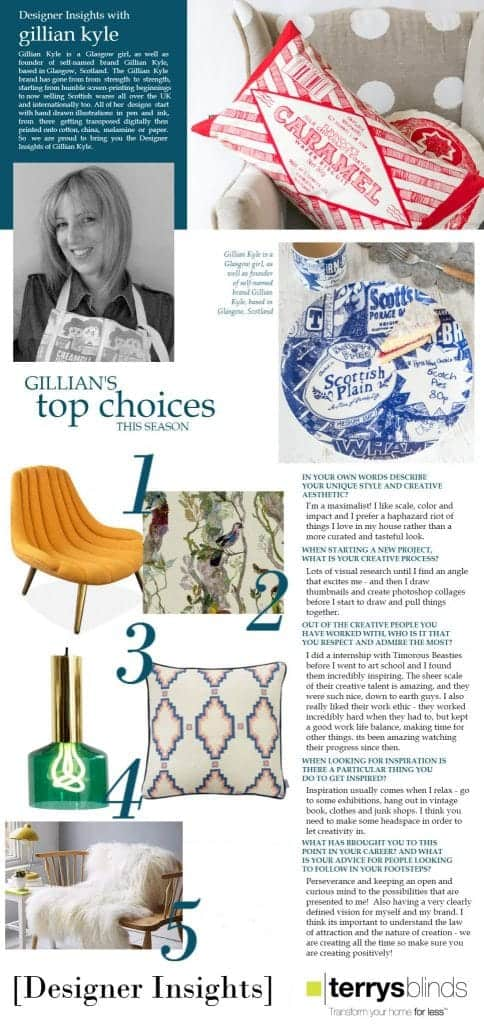 Designer Insights with Gillian Kyle