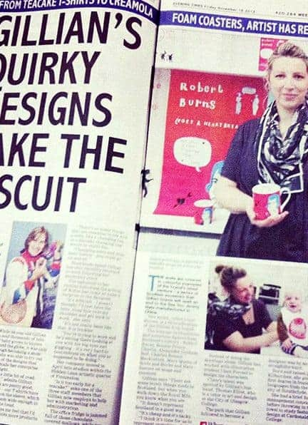 The Evening Times featuring Gillian Kyle and Rufus