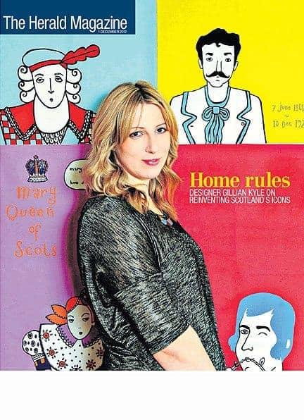 The Herald magazine featuring Gillian Kyle