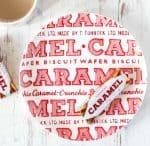tunnocks caramel wafer plate