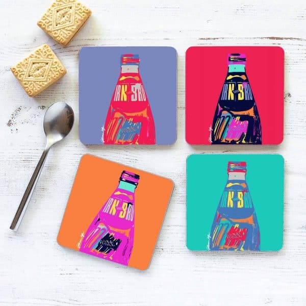 POP! IRN-BRU merchandise product range from Scottish artist Gillian Kyle