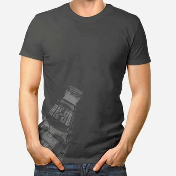 Irn Bru Scottish Mens T-shirt from Scottish artist Gillian Kyle