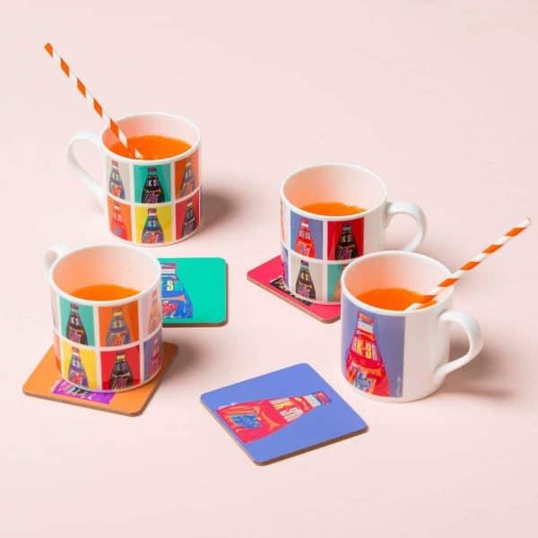 Irn Bru merchandise by Gillian Kyle