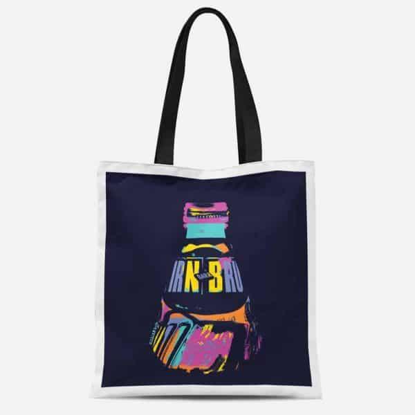 IRN-BRU tote bag by Gillian Kyle