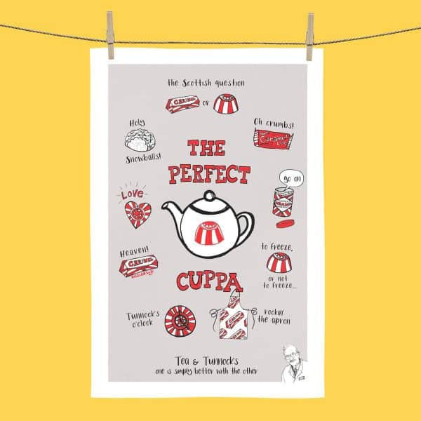 The Perfect Cuppa tea towel
