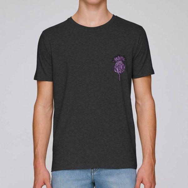 Flower of Scotland Scottish Thistle T-shirt