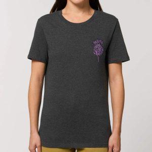 Scottish Thistle Womens T-shirt by Gillian Kyle - modern design