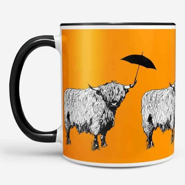 Dougal Highland cow mug