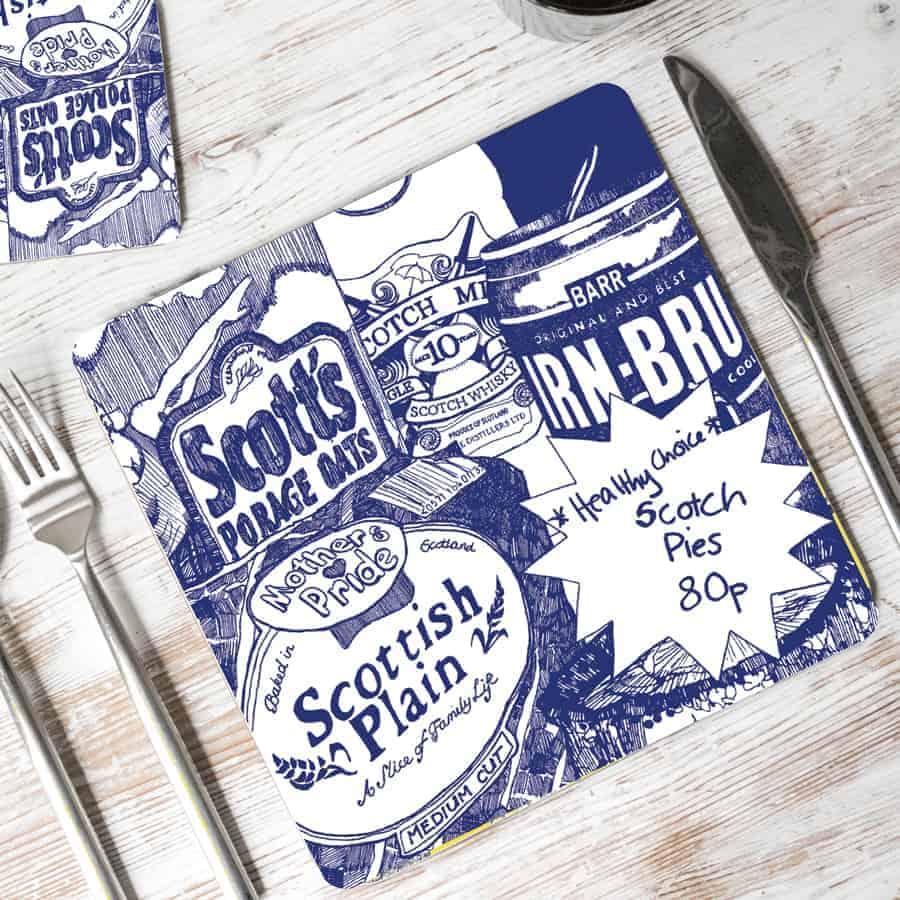 Scottish Breakfast placemats