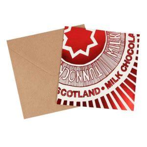 Tea Cake Wrapper card