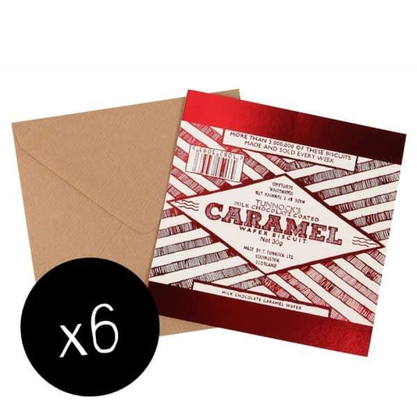 Caramel Wafer Card