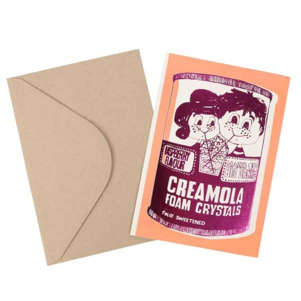 Creamola Foam foil card