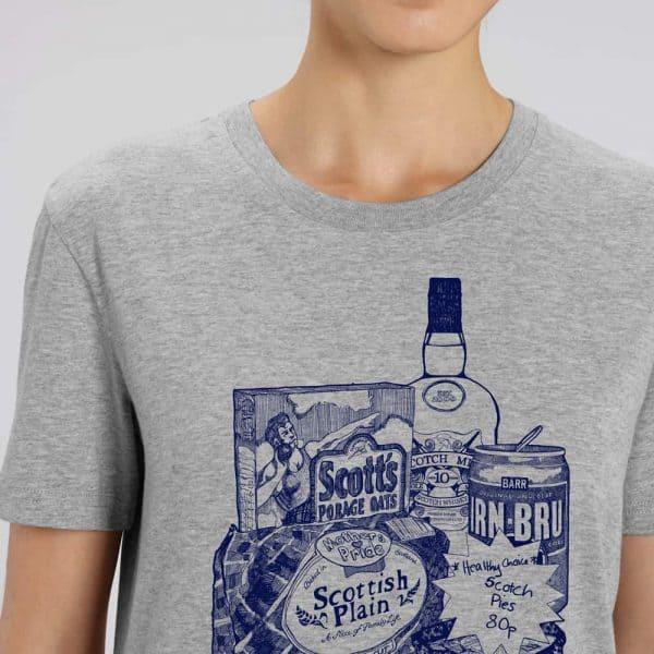 Scottish breakfast t-shirt
