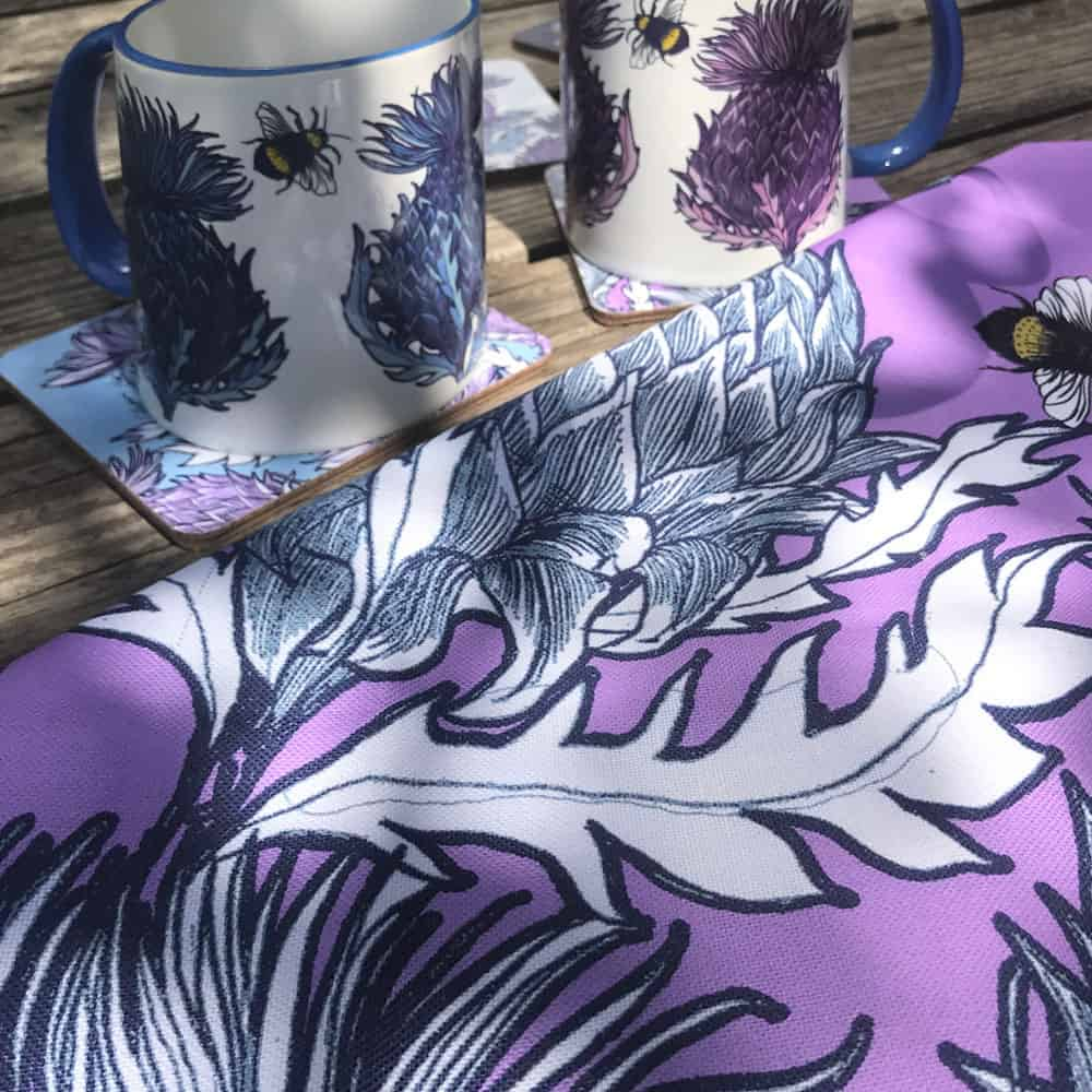 Scottish Thistle Collection by Gillian Kyle