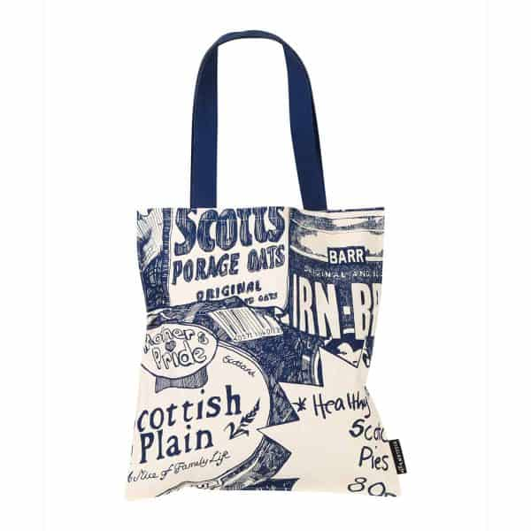 Scottish breakfast Heavyweight Tote Bag by Gillian Kyle