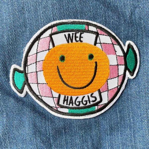 Wee Haggis denim kids and baby jacket by Gillian Kyle