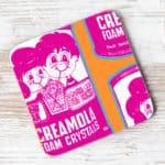 Creamola foam coaster