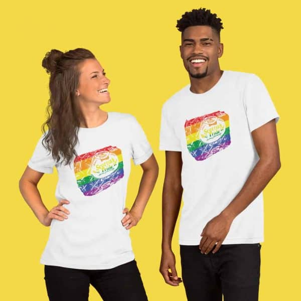 Scottish Pride t-shirt white by Gillian Kyle