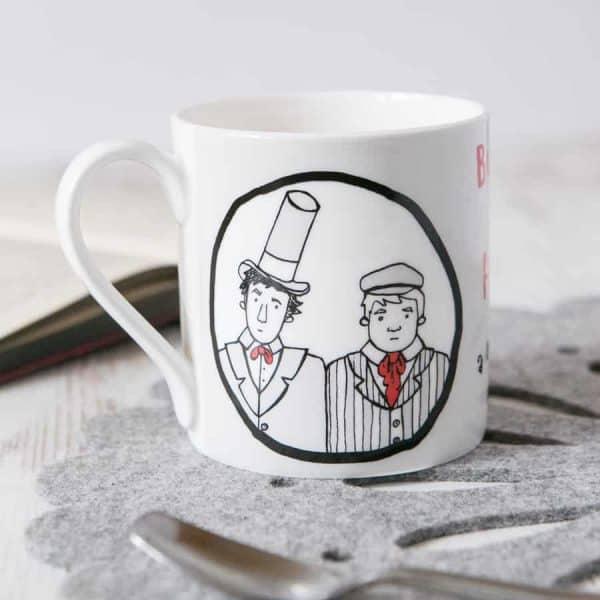 Burke & Hare China Mug by Gillian Kyle