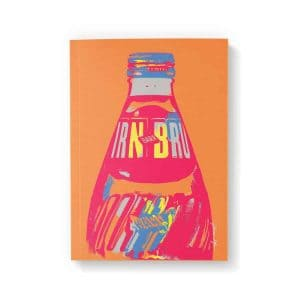IRN-BRU A6 notebook by Gillian Kyle