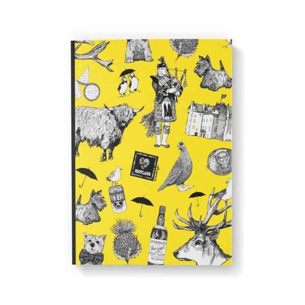 Love Scotland A6 notebook by Gillian Kyle