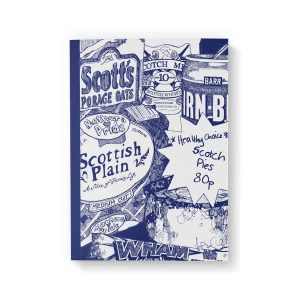 Scottish Breakfast A6 notebook by Gillian Kyle