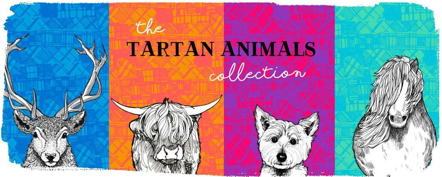 Tartan Animals collection by Gillian Kyle