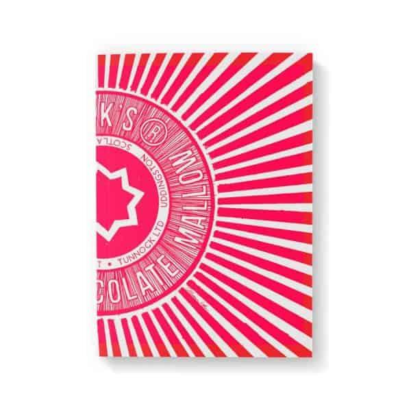 Tunnock's Te Cake Wrapper notebook by Gillian Kyle