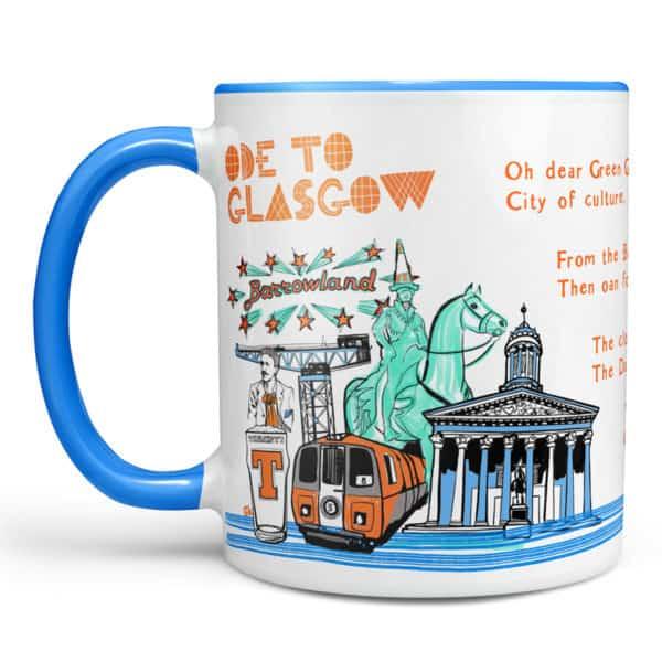 Ode to Glasgow chunky mug