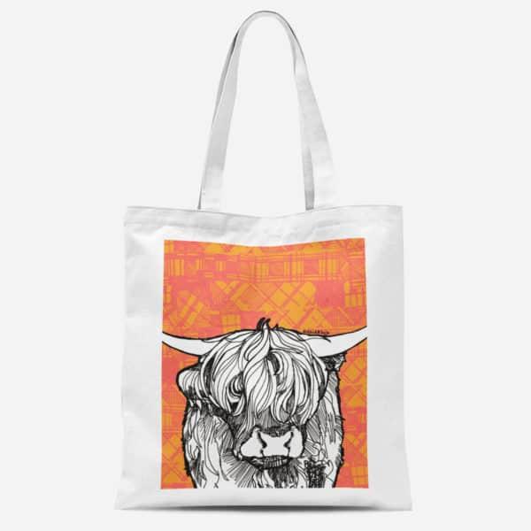 Highland Cow basic Tote bag