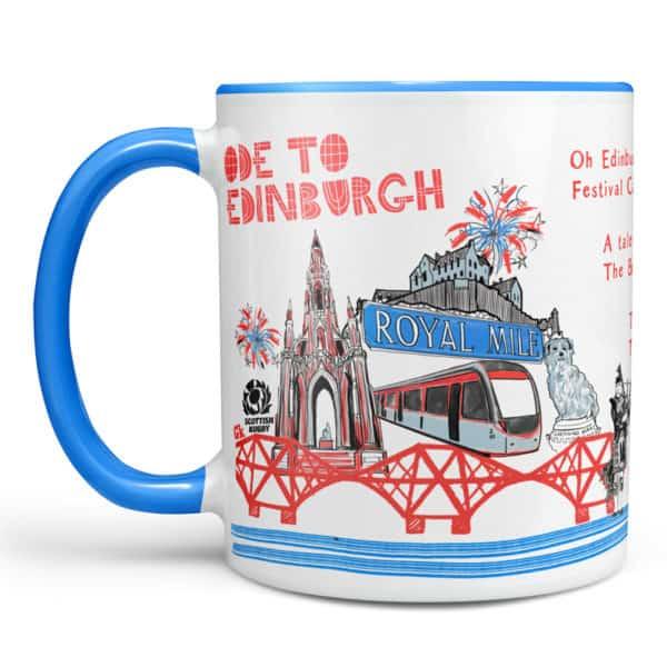 Ode to Edinburgh chunky mug
