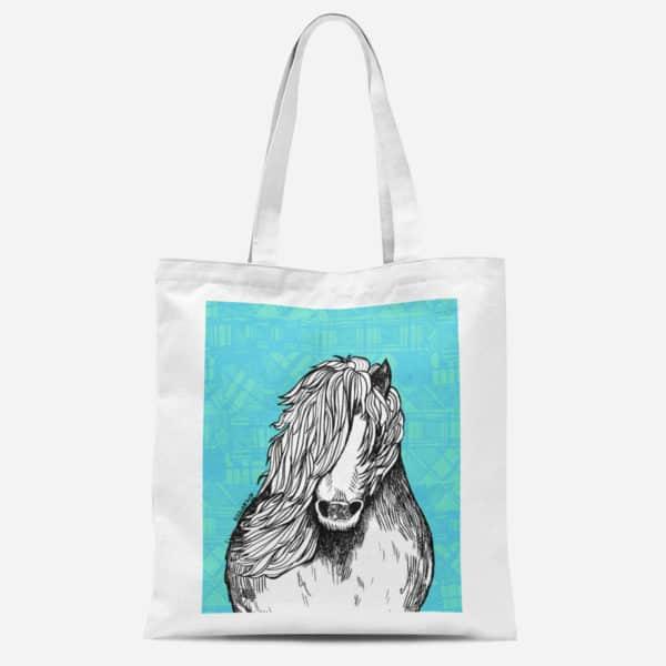 Shetland pony basic Tote bag