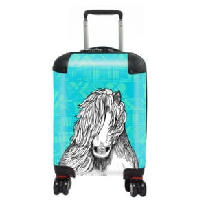Tartan Pony Kids Suitcase