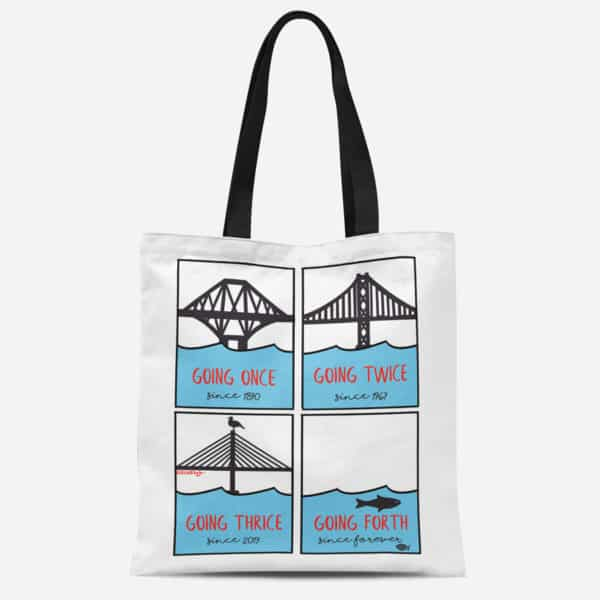Going Forth Heavyweight canvas tote bag
