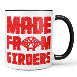 Made from Girders Forth Bridge mug