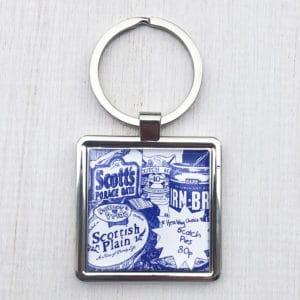 Scottish breakfast key ring by Gillian Kyle