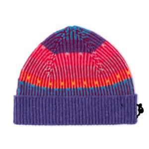 Belig Scottish knitwear lambswool hat by Gillian Kyle