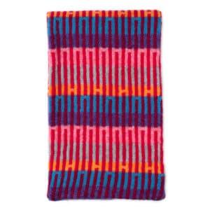 Belig Scottish knitwear lambswool scarf by Gillian Kyle