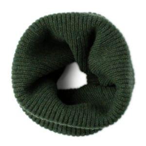 Clyde Scottish knitwear lambswool neckwarmer by Gillian Kyle