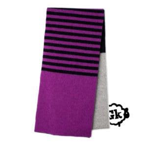 Eden Scottish knitwear lambswool scarf by Gillian Kyle
