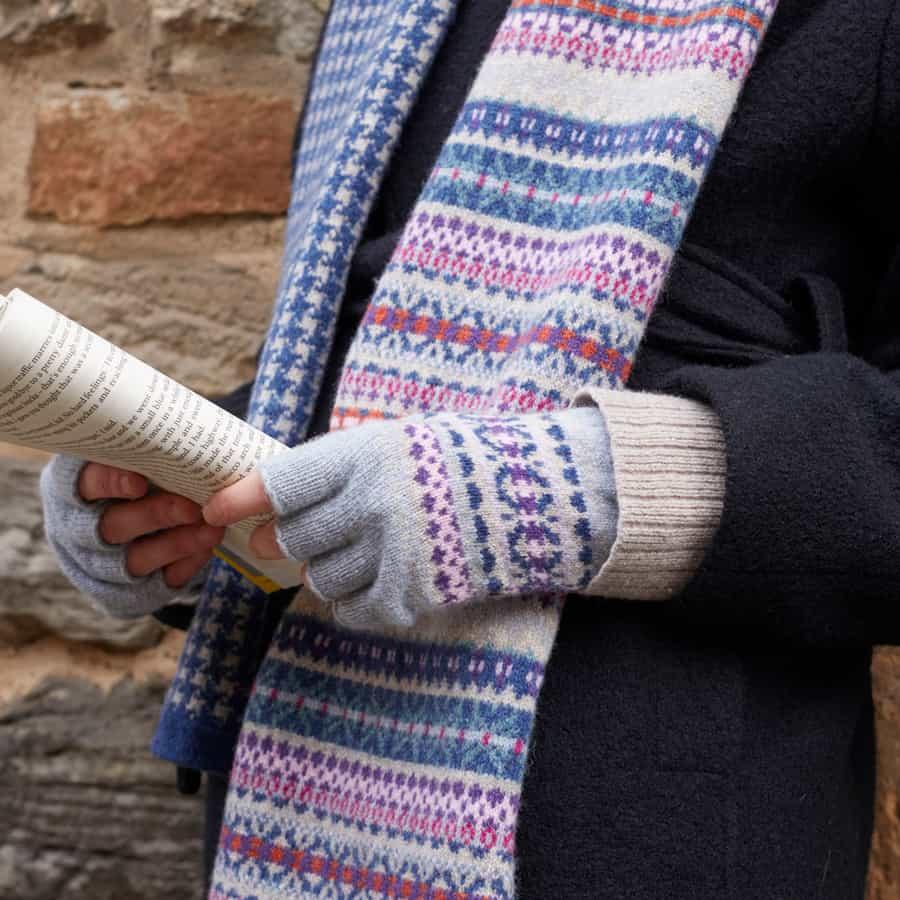 Kerse fairlisle Scottish knitwear lambswool by Gillian Kyle