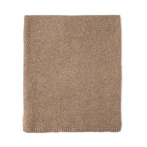 Lushan Recycled Cashmere Scarf - warm sand