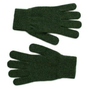 Munro Scottish knitwear lambswool gloves by Gillian Kyle