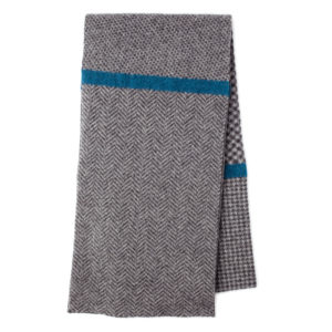 Nairn Scottish knitwear lambswool scarf by Gillian Kyle