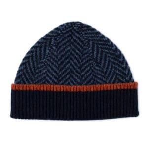 Nairn Scottish knitwear lambswool hat by Gillian Kyle
