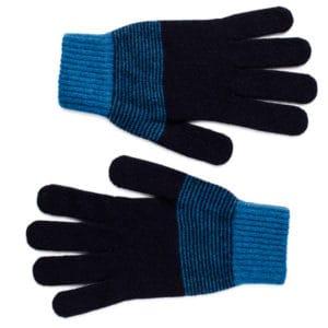 Tarf Scottish knitwear lambswool gloves by Gillian Kyle